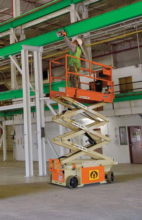 JLG 6RS Battery Scissor