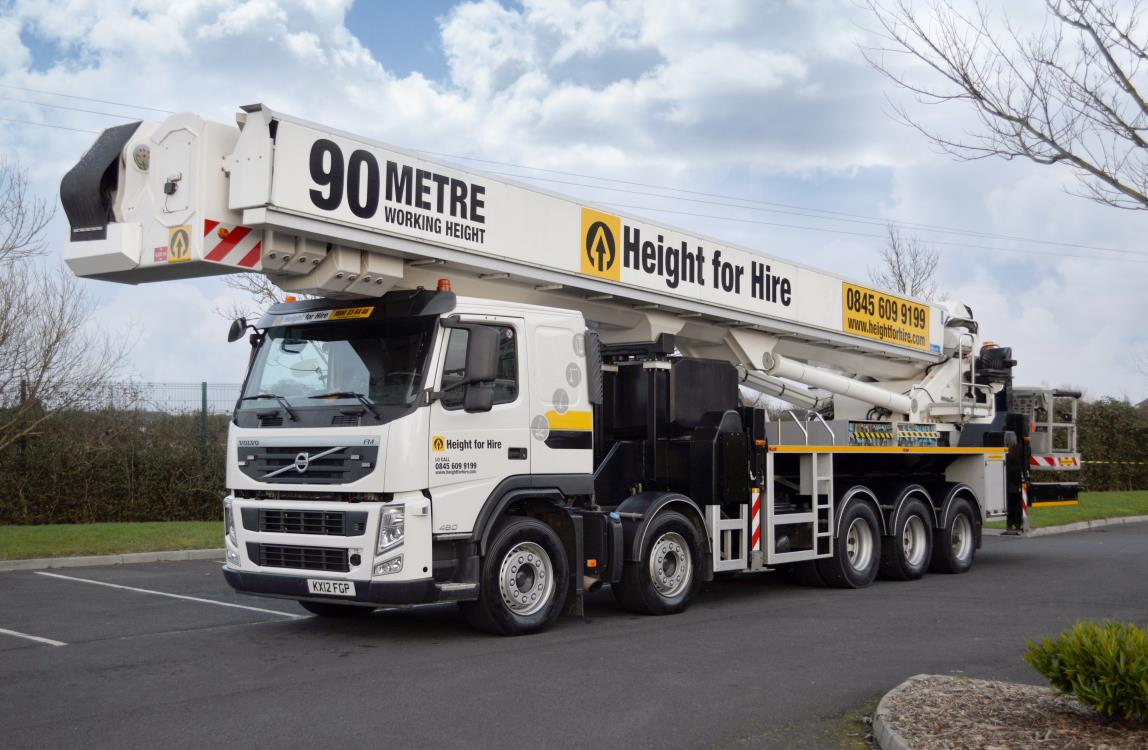 Bronto Skylift S 90 HLA Truck Mounted