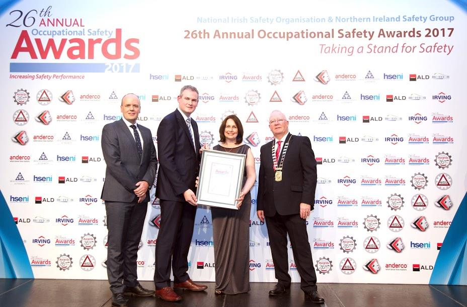 Height for Hire is Highly Commended at NISO Awards